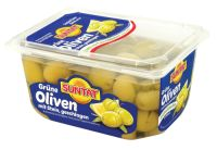 SUNTAT Green Olives sliced 16x400g