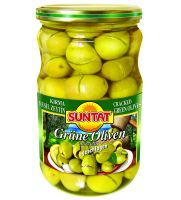 Green Olives cracked 12x720ml