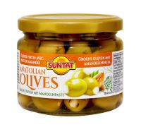 Gr. Olives w. almonds 12x300ml