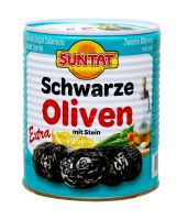 Black Olives extra 12x800ml-400g can