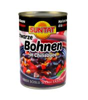 Black beans in chilisauce 12x425ml tin
