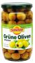 Green Olives pitted 12x720ml, glas