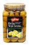 Egetad Cracked Green Olives 6x1600ml
