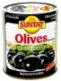 Black Olives w. stone light salted 12x400g